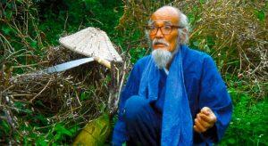 El maestro Masanobu Fukuoka