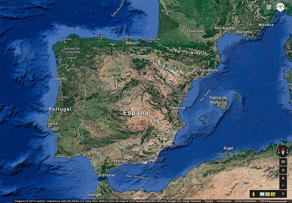 El estado de desertización de la península Ibérica
