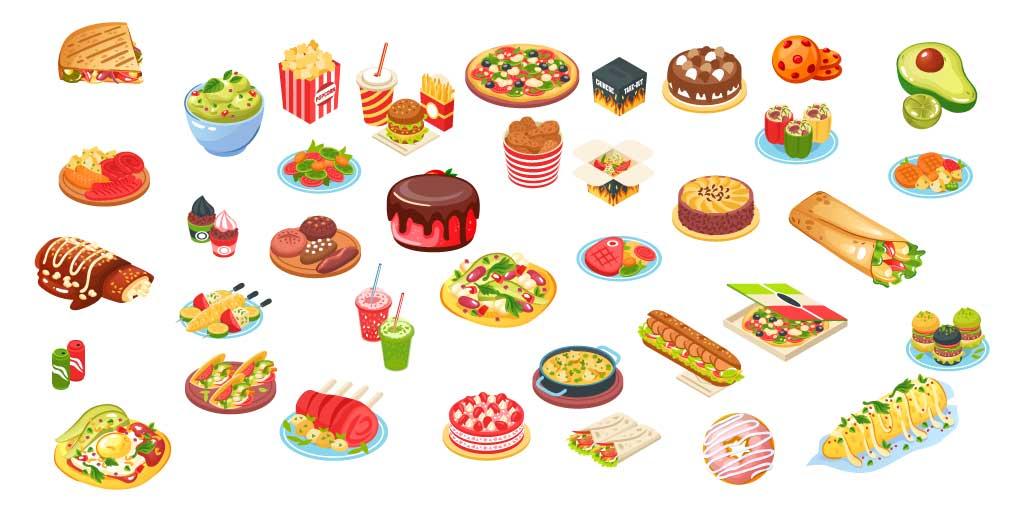 Grasas alimentarias que contiene nuestra dieta