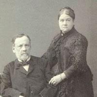 Marie y Louis Pasteur